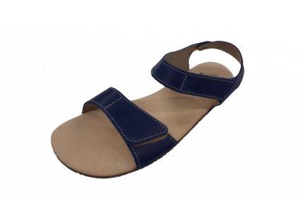 Protetika dámské barefoot sandály Belita modrá 98