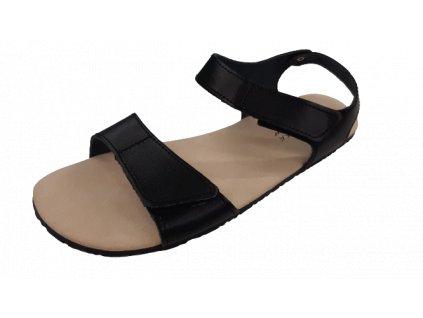 Protetika dámské barefoot sandály Belita černá 60