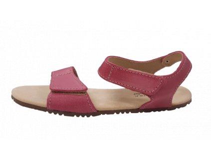 Protetika dámské barefoot sandály Belita růžová 80