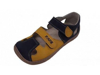 Fare Bare barefoot dětské sandály B5561281