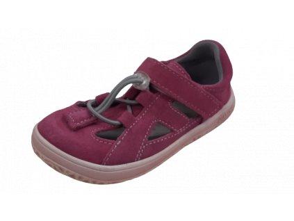 Jonap barefoot sandály B9/S růžová