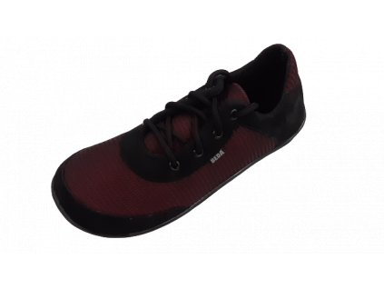 Beda barefoot síťované tenisky Black Poppy BF0002/SK