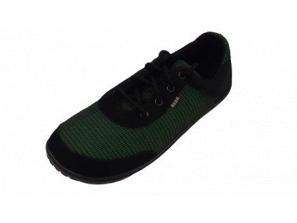 Beda barefoot síťované tenisky Black Grass BF0002/SK