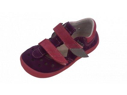 Beda barefoot sandály Mia BF/001/SD/W