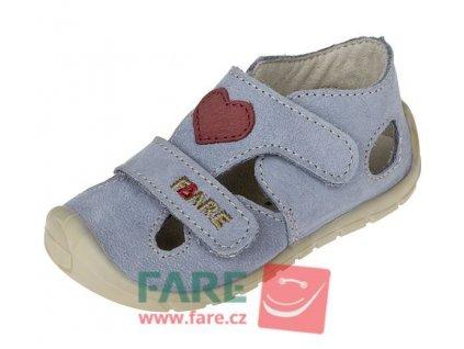 Fare Bare barefoot dětské sandály 5061203