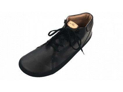 Pegres celoroční barefoot obuv BF70 černá