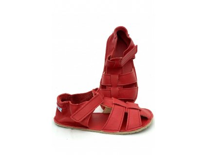 Baby Bare Shoes barefoot sandály/přezůvky Sandals New Red