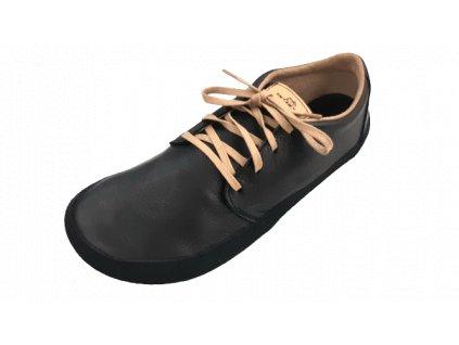 Pegres celoroční nízká barefoot obuv BF71 černá