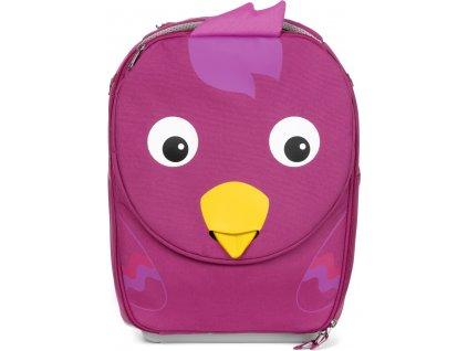 Affenzahn Dětský cestovní kufřík Suitcase Trolley Bella Bird - purple