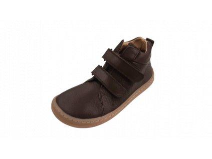 Froddo celoroční kotníková barefoot obuv Brown G3110195-2L