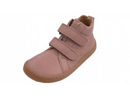 Froddo celoroční kotníková barefoot obuv Pink G3110195-5L