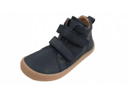 Froddo celoroční kotníková barefoot obuv Blue G3110195-L