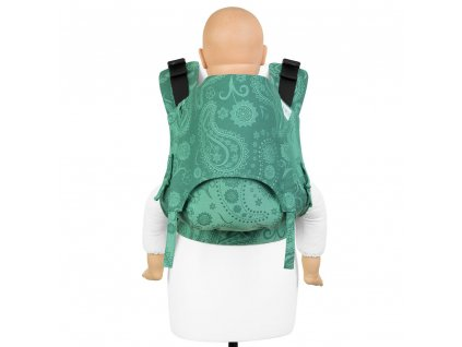 fusion v2 baby carrier with buckles persian paisley jungle toddler