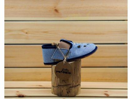 Pegres barefoot přezůvky BF03 modrábf03 modra r