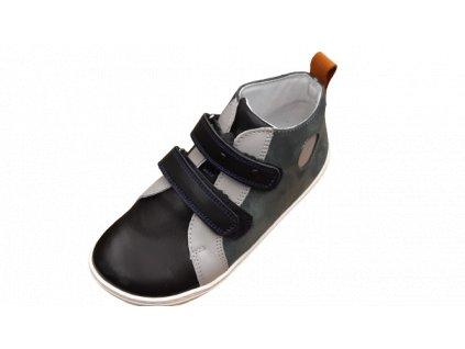 OK bare barefoot kotníková obuv LIME Coal BF D 2250 - 114