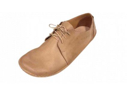 OK bare celoroční barefoot obuv CARMEN Cream BF 1746-264