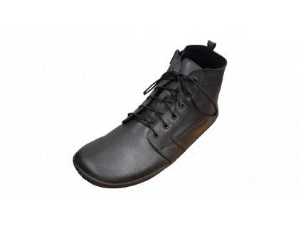 OK bare zimní barefoot obuv DEVON Gray BF 1744-35