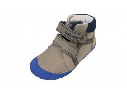 D.D.step celoroční barefoot obuv A073-874BM Grey