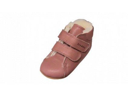 Froddo barefoot zimní capáčky Prewalkers Nude G1130013-13