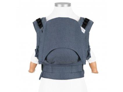 ergonomické nosítko fidella fusion baby chevron denim blue