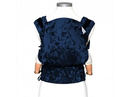 baby size fusion baby carrier with buckles classic wolf royal blue