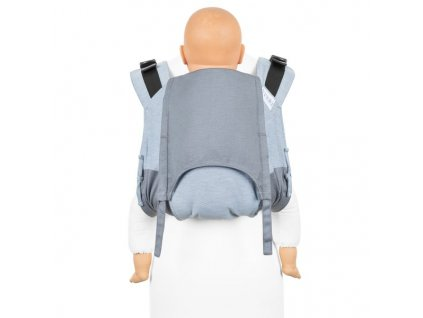 fidella onbuhimo v2 back carrier classic lines light blue