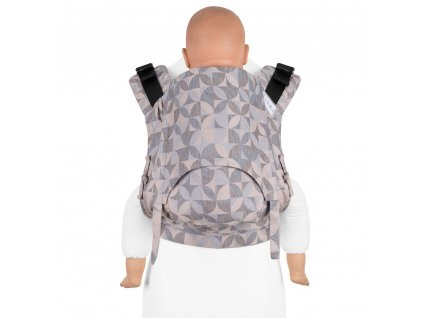 fidella fusion 2 0 baby carrier with buckles kaleidoscope sand toddler