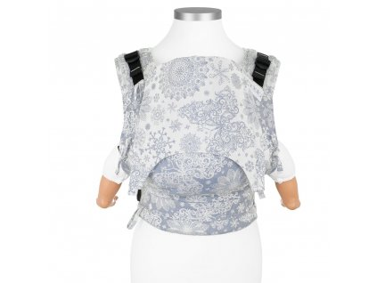 nosítko fidella baby size fusion baby carrier with buckles classic iced butterfly light blue