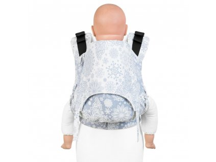 nosítko fidella fusion 2 0 baby carrier with buckles classic iced butterfly light blue toddler