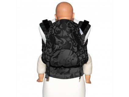 fidella fusion 2 0 baby carrier with buckles classic wolf anthracite toddler