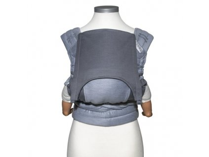 baby size fly tai mei tai baby carrier classic lines light blue 5