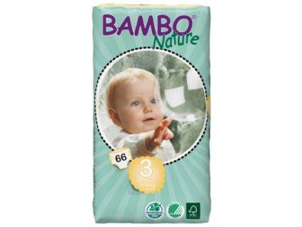 Bambo Nature 3 Midi, 66ks, pro 5-9 kg