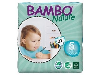 Bambo Nature 5 Junior, 27ks, pro 12 22 kg