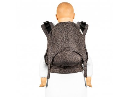 fusion 2 fullbuckle baby carrier mosaic mocha brown toddler