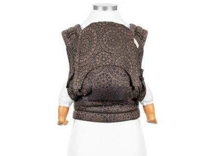 fly tai mei tai baby carrier mosaic mocha brown baby