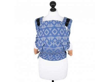 baby size fusion baby carrier with buckles night owl blue
