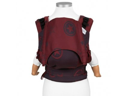 Ergonomické nosítko Fidella Fusion BABY SIZE - Outer Space Ruby Red