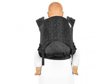 ergonomické nosítko fidella flyclick plus halfbuckle baby carrier saint tropez charming black toddler