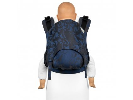 Ergonomické nosítko Fidella Fusion Toddler 2.0 Wolf Royal Blue full buckle