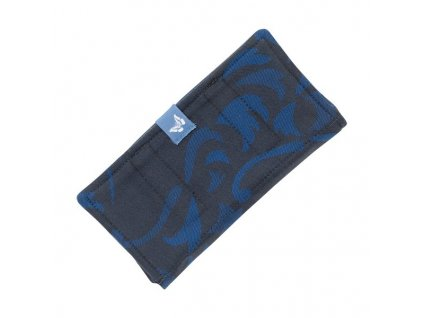 fidella suck pad for baby carriers classic wolf royal blue
