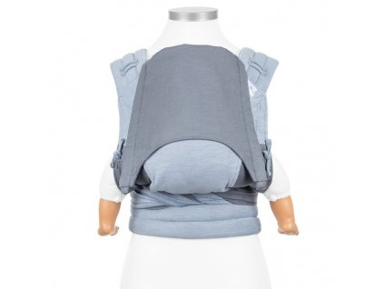 ergonomické nosítko fidella flyclick baby carrier classic lines light blue