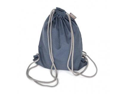 daybag chevron blau