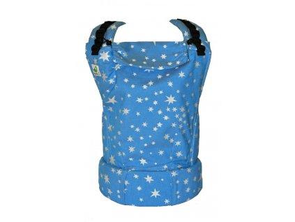 MoniLu UNI - Stars Jeans včetně slintáčků + ZDARMA PRACÍ GEL YELLOW AND BLUE (250 ml)  + ZDARMA PRACÍ GEL YELLOW AND BLUE (250 ml)