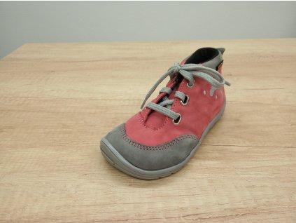Fare Bare vyšší dětské celoroční boty s flísem a tkaničkami 5121241