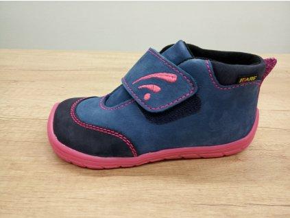 Fare Bare vyšší dětské celoroční boty s flísem 5121251