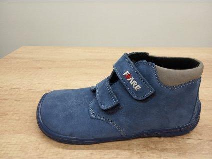 Fare Bare vyšší dětské celoroční boty s flísem 5221202