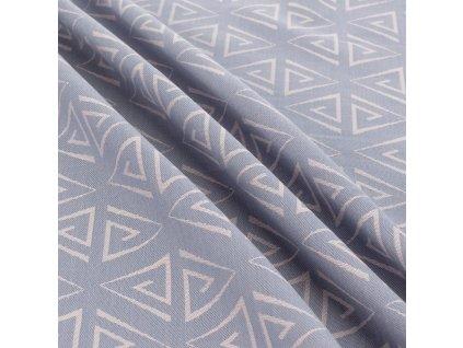 Šátek na nošení dětí Fidella – Paperclips Ash Blue