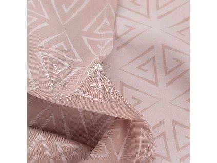 Šátek na nošení dětí Fidella – Paperclips Ash Rose