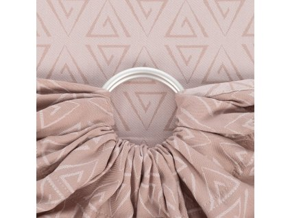 Ring sling Fidella - Paperclips Ash Rose