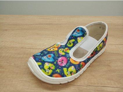 Fare Bare dětské barefoot přezůvky ČÍSLA na gumičku 5101401